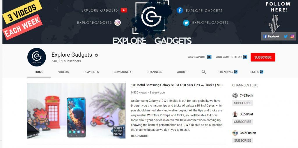 Top 10 Best Nepali Tech Channels - Explore Gadgets