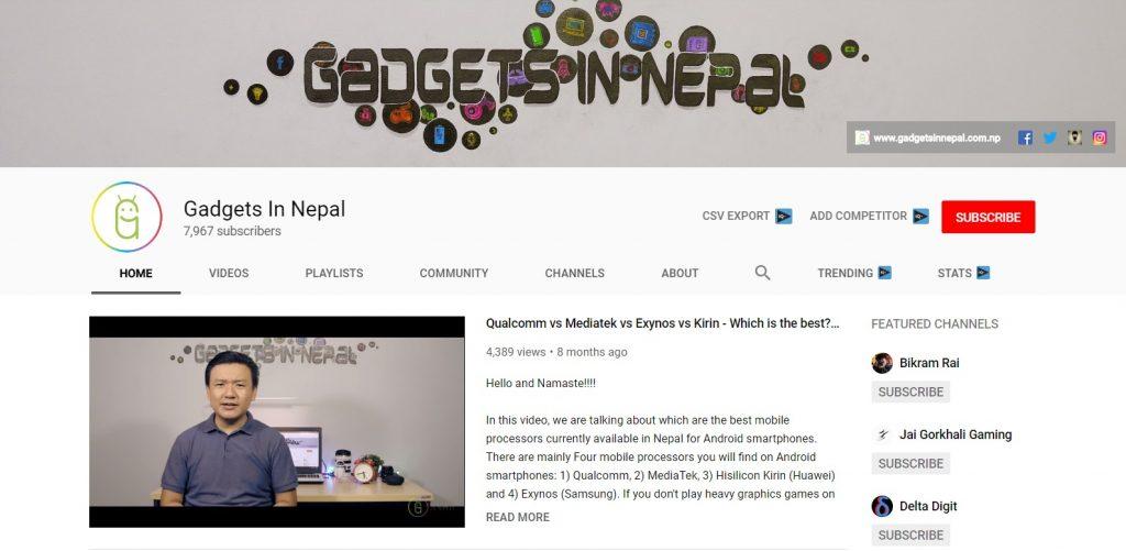 Gadgets In Nepal