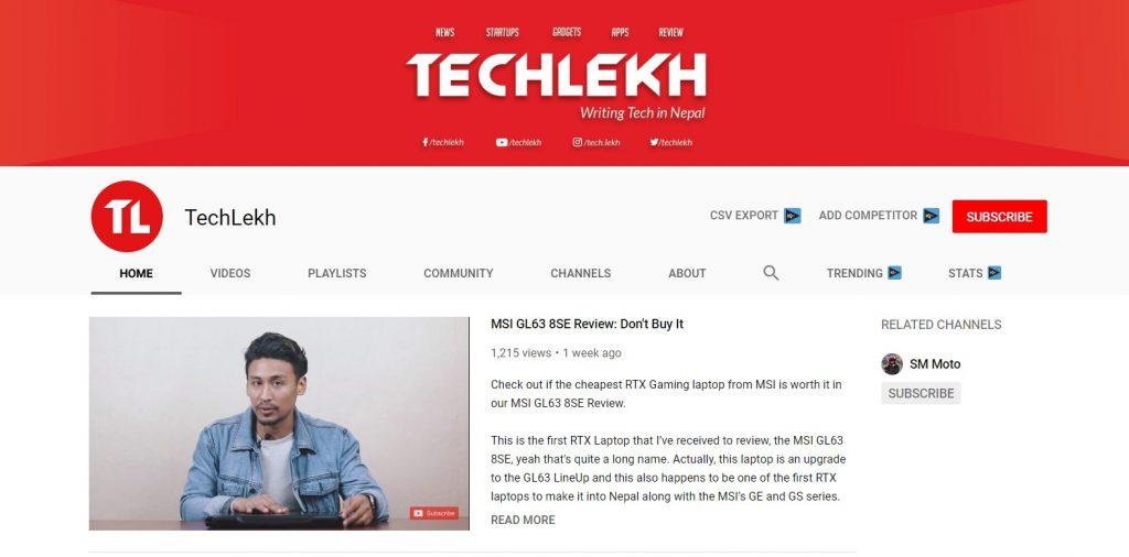 Top 10 Best Nepali Tech Channels - TechLekh
