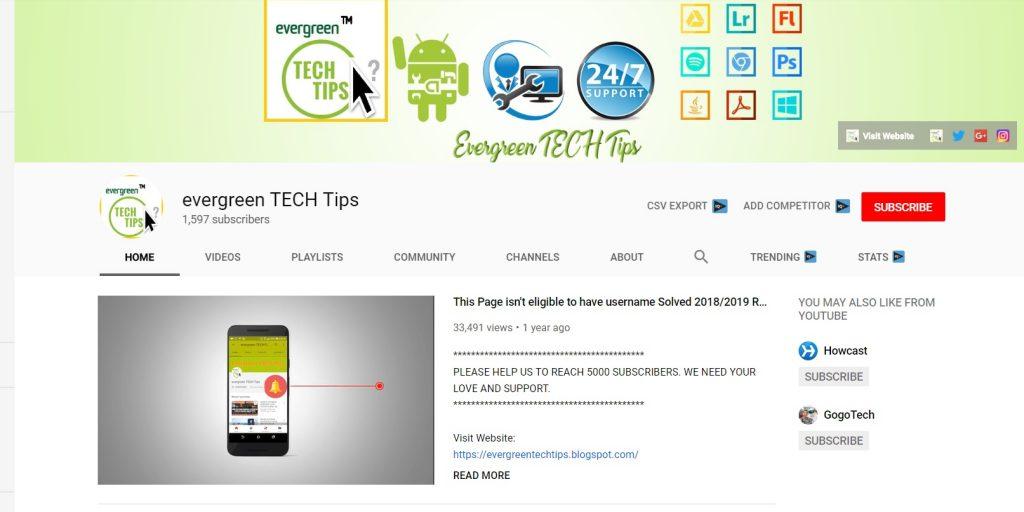evergreen Tech Tips