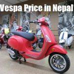 Vespa Price in Nepal