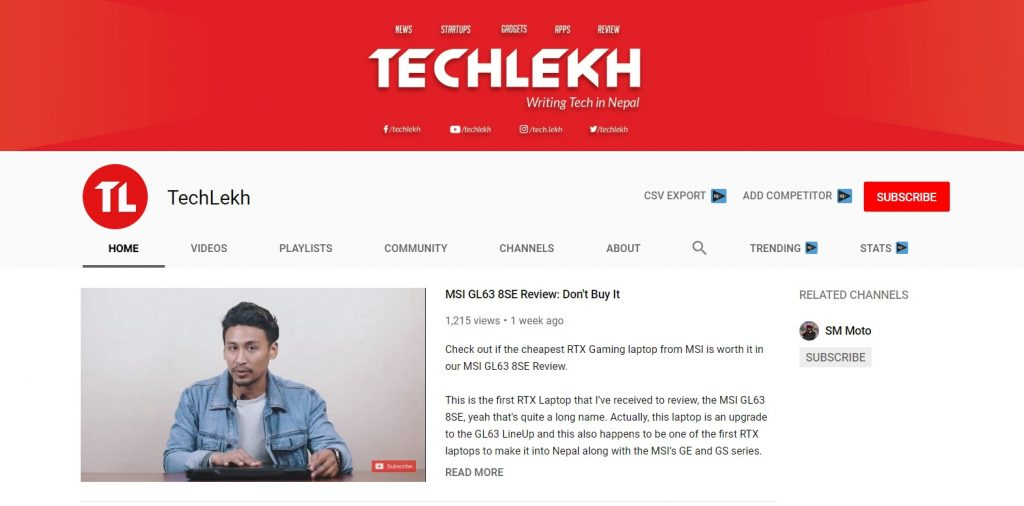 Top 10 Best Nepali Tech Channels - TechLekh